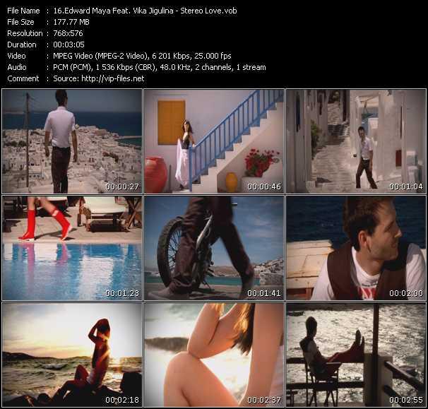 Edward Maya Feat. Vika Jigulina video - Stereo Love