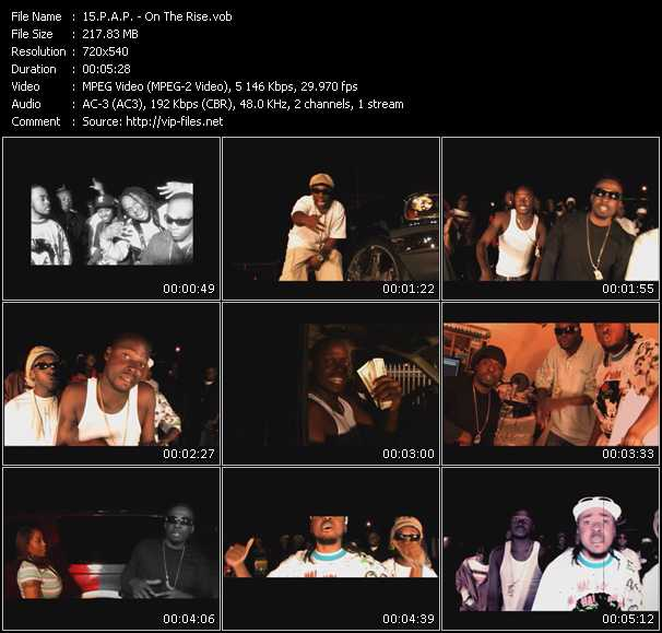 P.A.P. music video Publish2