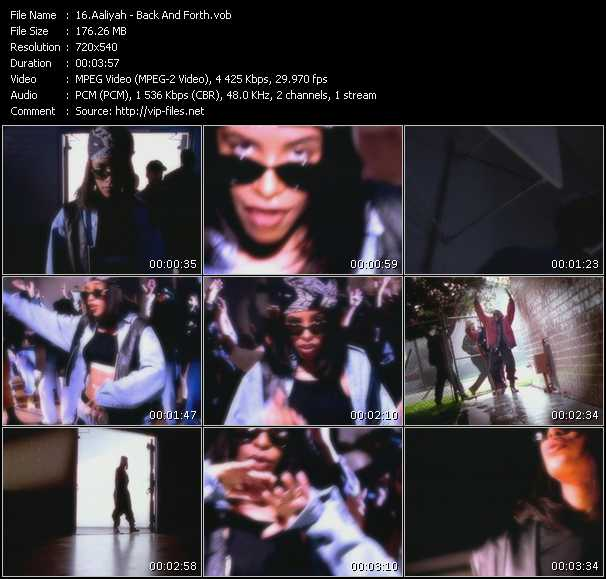 Aaliyah video - Back And Forth