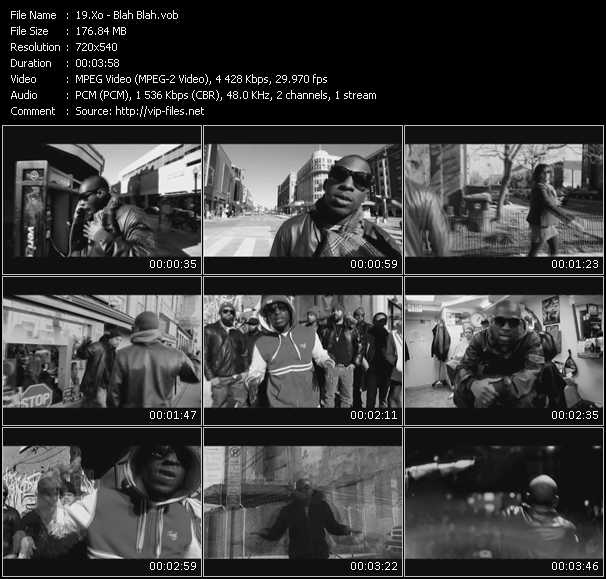 Xo video - Blah Blah