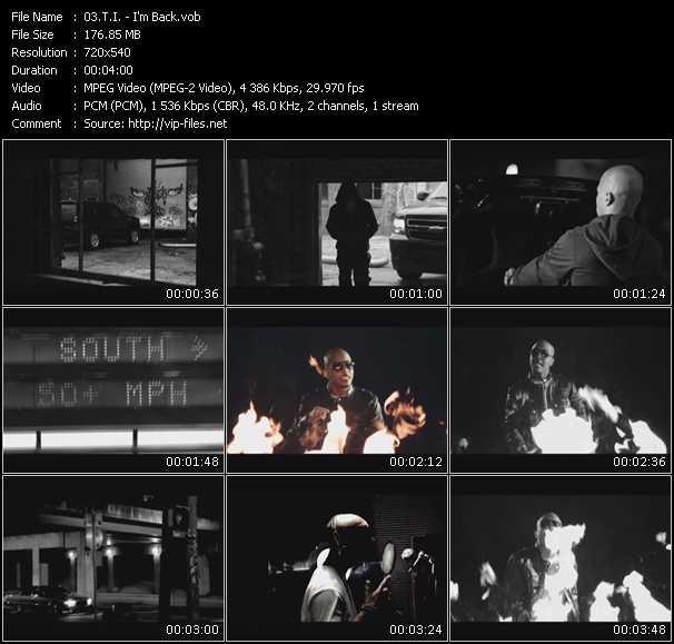 T.I. video - I'm Back
