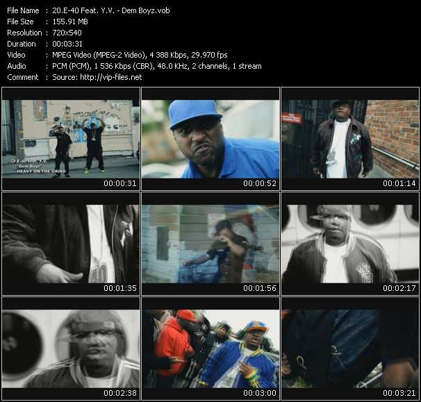 E-40 Feat. Y.V. music video Publish2