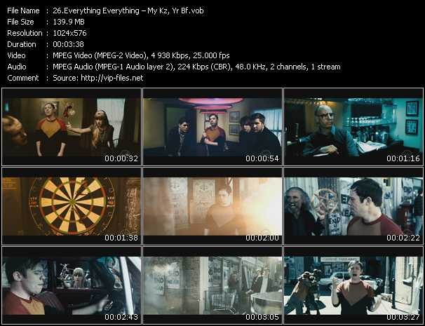 Everything Everything music video Publish2