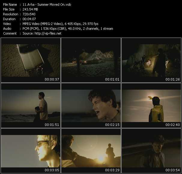 A-Ha video - Summer Moved On