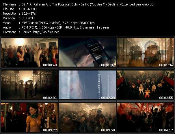 A.R. Rahman And Pussycat Dolls music video Keep2share