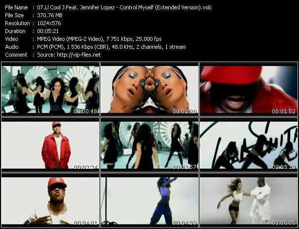 LL Cool J Feat. Jennifer Lopez video - Control Myself (Extended Version)