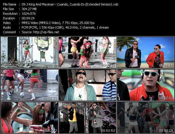 J-King And Maximan video - Cuando, Cuando Es (Extended Version)