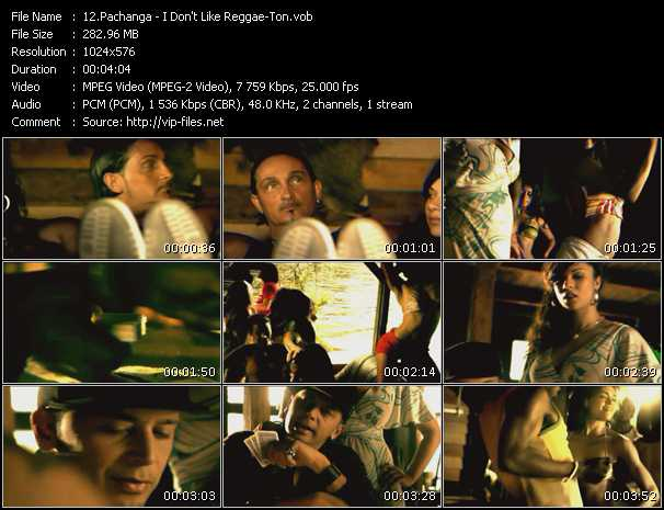 Pachanga video - I Don't Like Reggae-ton
