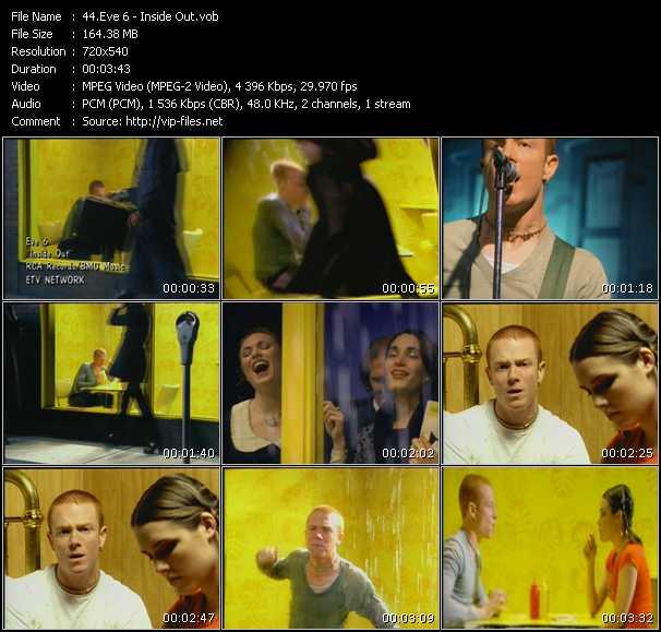 Eve 6 «Inside Out» VOB File