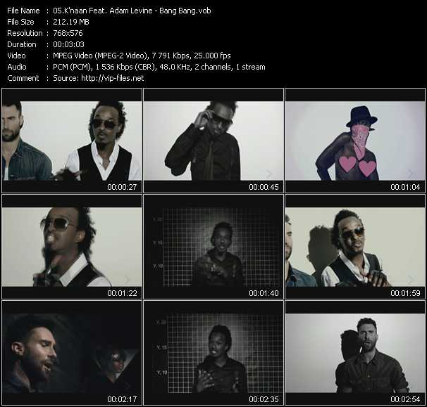 K'naan Feat. Adam Levine video - Bang Bang