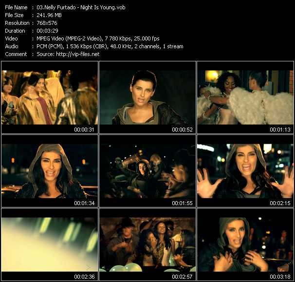 Nelly Furtado video - Night Is Young