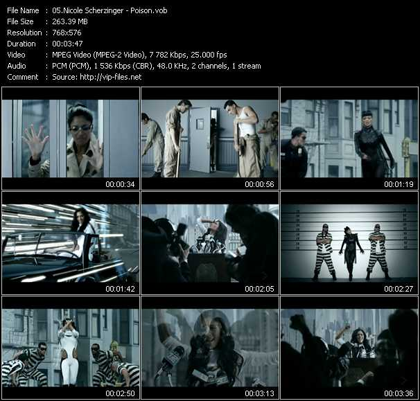 Nicole Scherzinger video - Poison