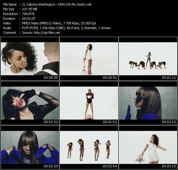Sabrina Washington music video Publish2