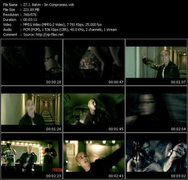 J. Balvin video - Sin Compromiso