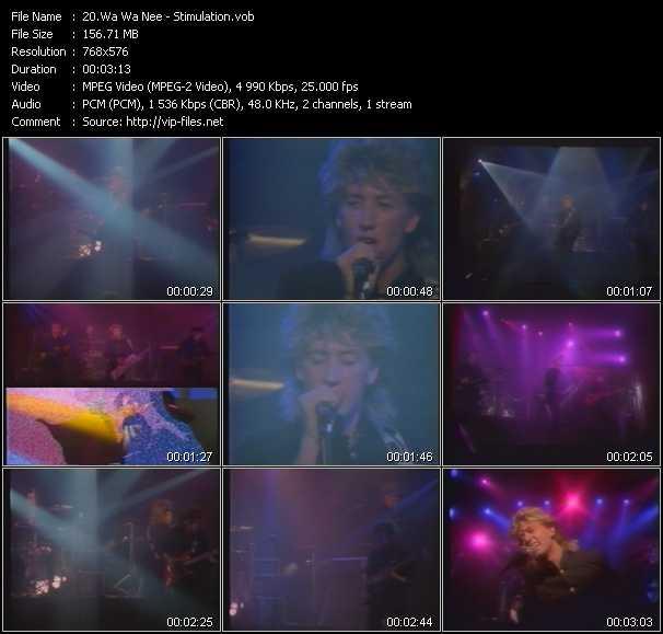 Wa Wa Nee video - Stimulation
