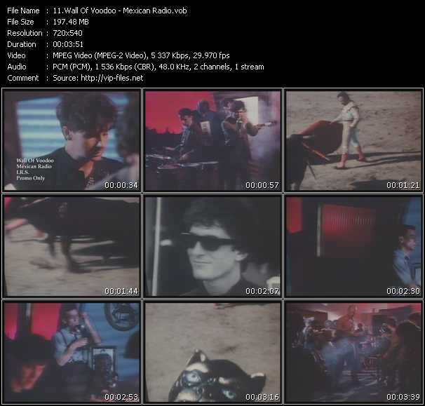Wall Of Voodoo video - Mexican Radio