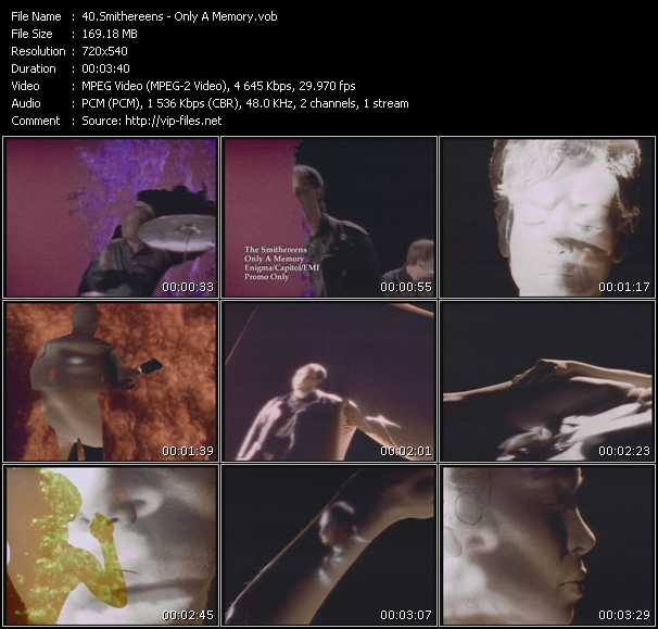 Smithereens video - Only A Memory