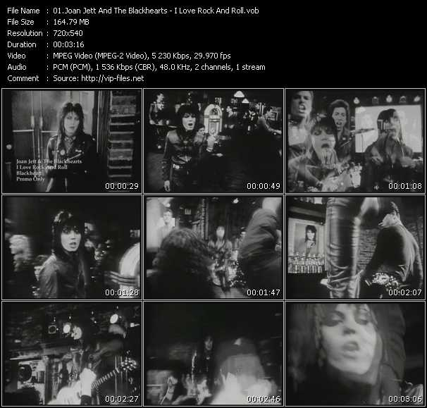 Joan Jett And The Blackhearts video - I Love Rock And Roll