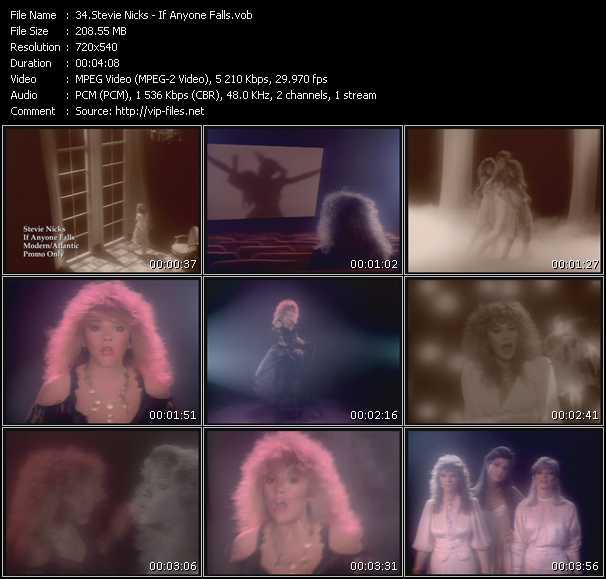Stevie Nicks video - If Anyone Falls