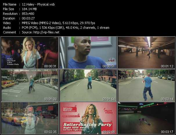 Haley music video Publish2