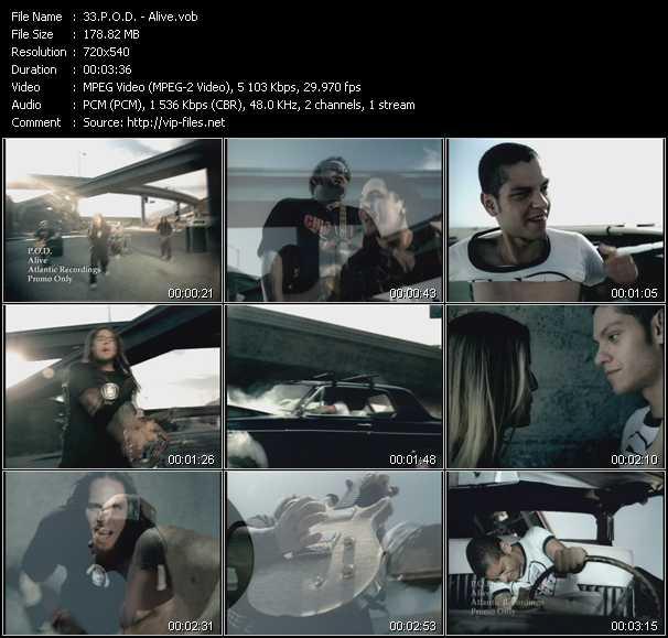 P.O.D. music video Publish2
