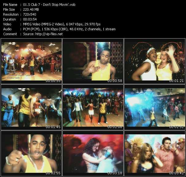 S Club 7 music video Publish2