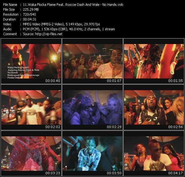Waka Flocka Flame Feat. Roscoe Dash And Wale music video Publish2