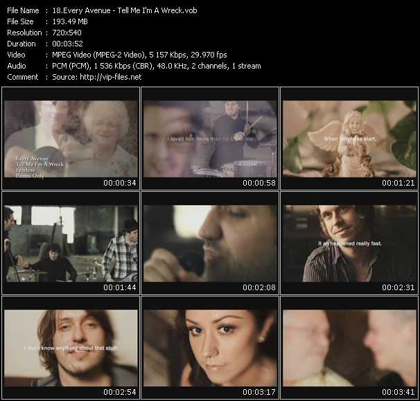 Every Avenue music video Publish2