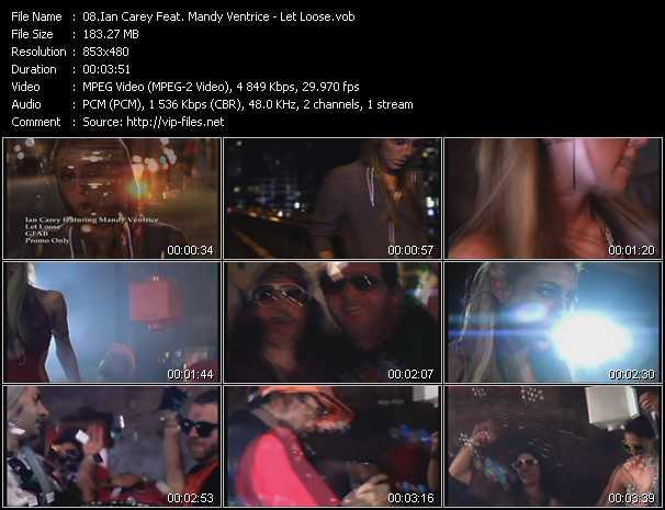 Ian Carey Feat. Mandy Ventrice music video Publish2