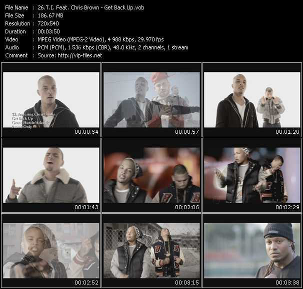 T.I. Feat. Chris Brown video - Get Back Up