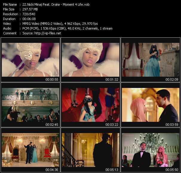 Nicki Minaj Feat. Drake video - Moment 4 Life