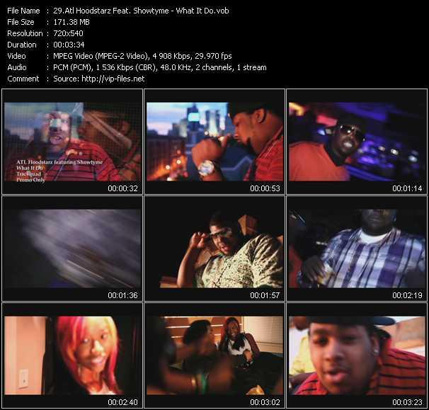 Atl Hoodstarz Feat. Showtyme video - What It Do