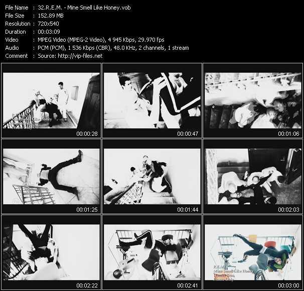 R.E.M. video - Mine Smell Like Honey