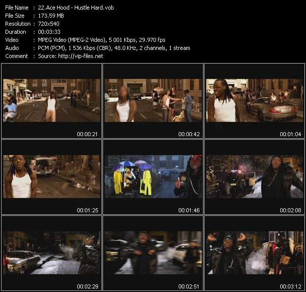 Ace Hood video - Hustle Hard