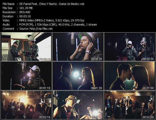Fainal Feat. Chino And Nacho video - Dame Un Besito