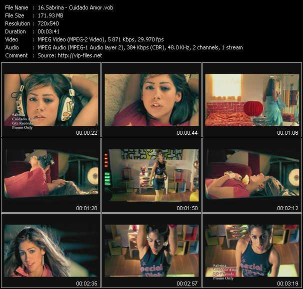 Sabrina (Sabrina Garcia-Grandos) music video Publish2
