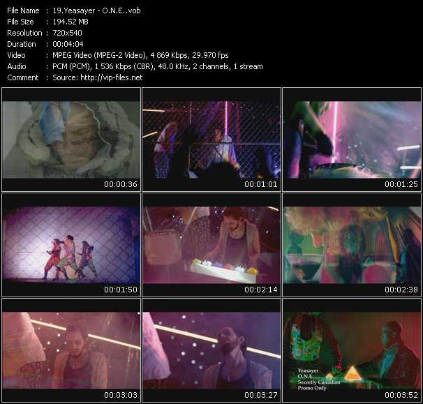 Yeasayer video - O.N.E.