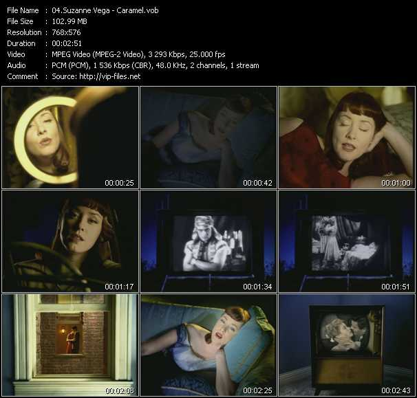 Suzanne Vega video - Caramel