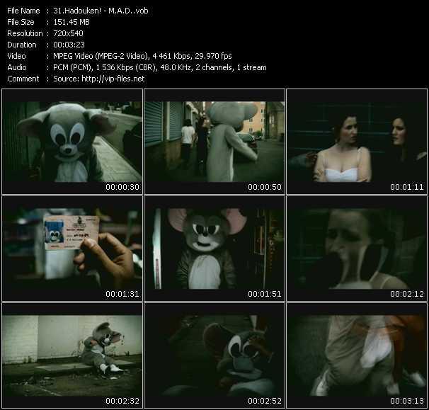 Hadouken! video - M.A.D.