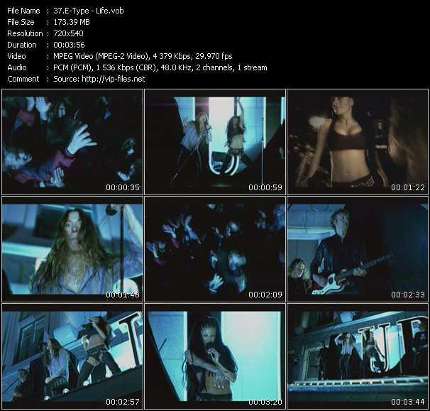 E-Type video - Life