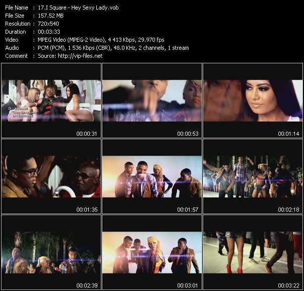 I Square music video Publish2