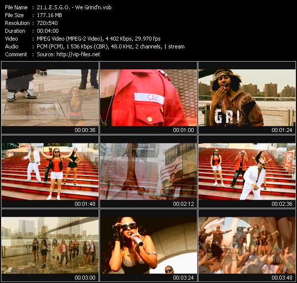 L.E.S.G.O. video - We Grind'n