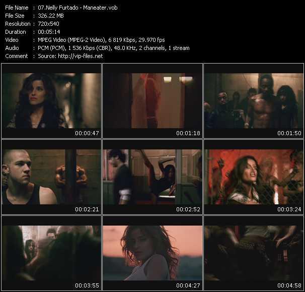 Nelly Furtado video - Maneater