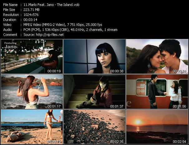 Marlo Feat. Jano video - The Island