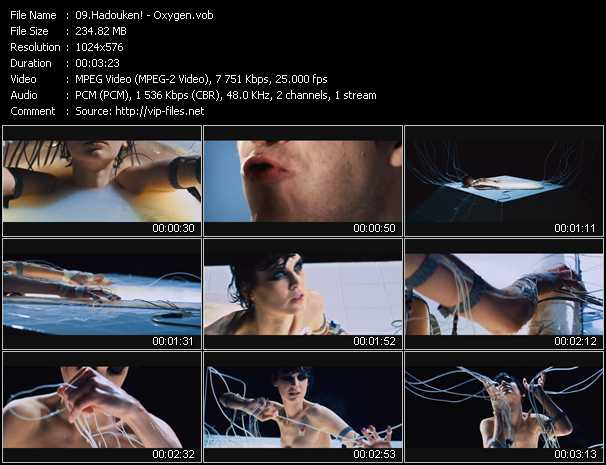 Hadouken! music video Publish2
