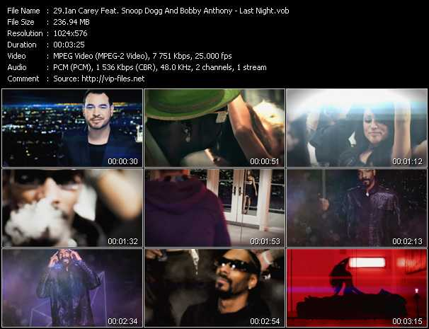 Ian Carey Feat. Snoop Dogg And Bobby Anthony music video Publish2