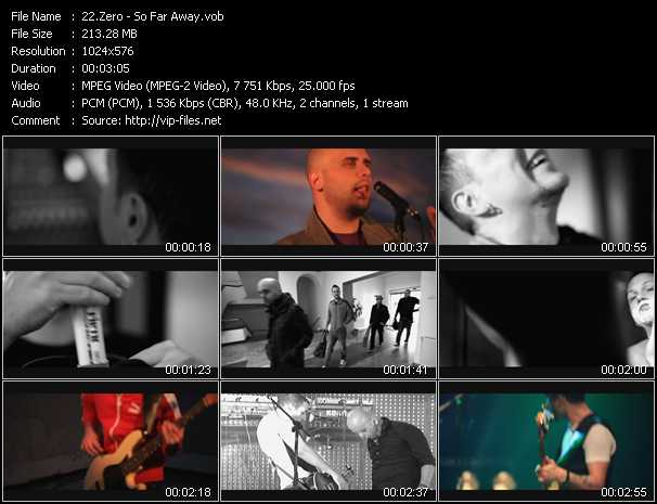 Zero video - So Far Away