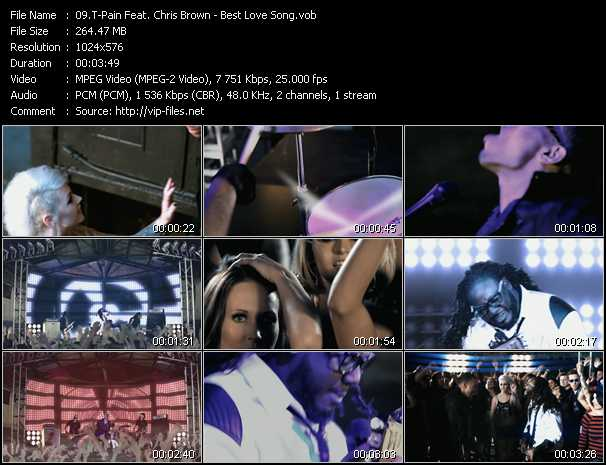 T-Pain Feat. Chris Brown music video Publish2