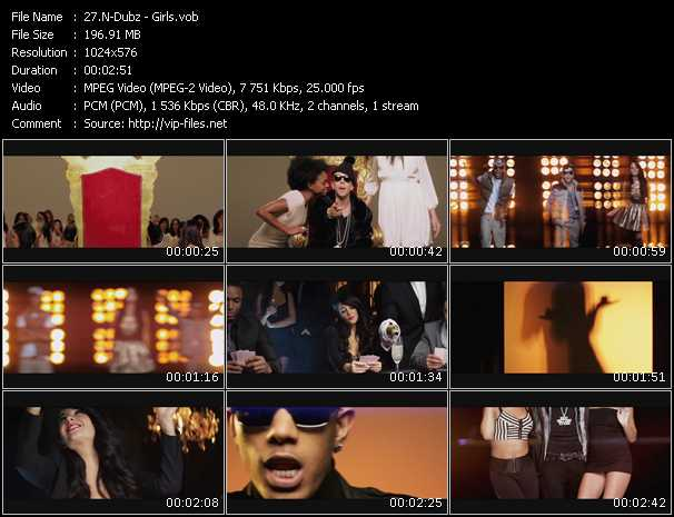 N-Dubz video - Girls