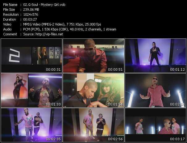 G-Soul video - Mystery Girl